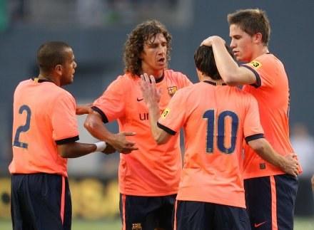 Barcelona wygrała z Seattle Sounders FC aż 4:0 /AFP