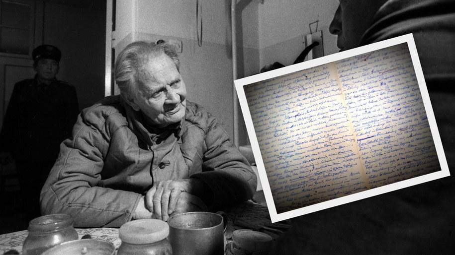 Barczewo 11.1986. Erich Koch, nazistowski dygnitarz odpowiedzialny za zbrodnie dokonane podczas II wojny światowej na ludności polskiej i żydowskiej /PAI /PAP