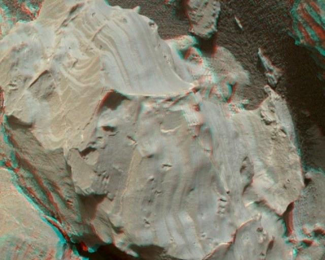 Barry DiGregorio sądzi, że odkrył na Marsie skamieniałości podobne do tych znalezionych na Ziemi /materiały prasowe