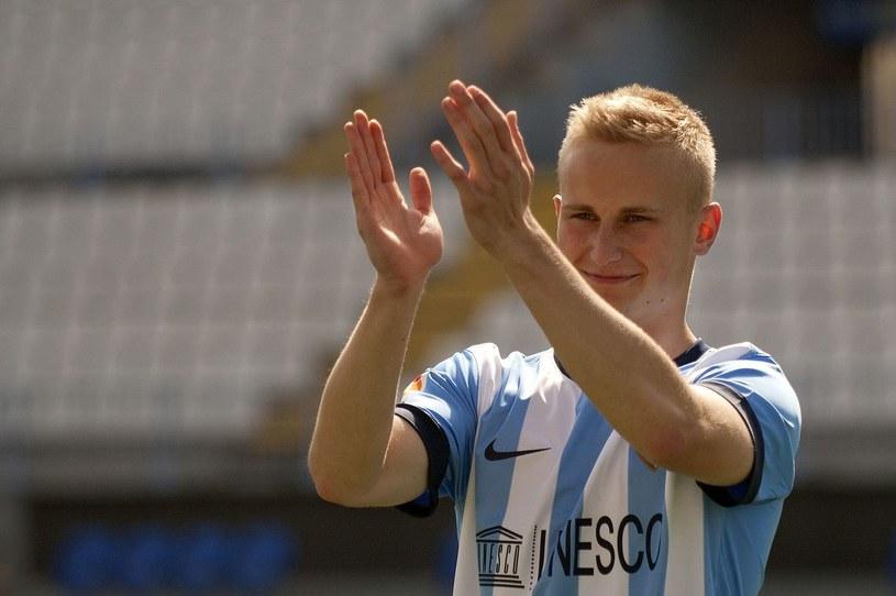 Bartłomiej Pawłowski z Malagi zagra jednak w kadrze U-21. /AFP