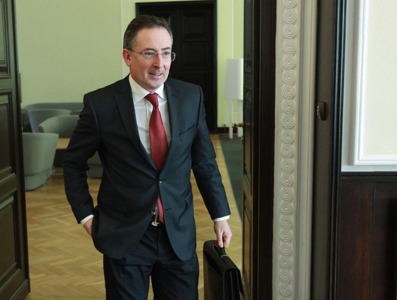 Bartłomiej Sienkiewicz /Radek Pietruszka /PAP