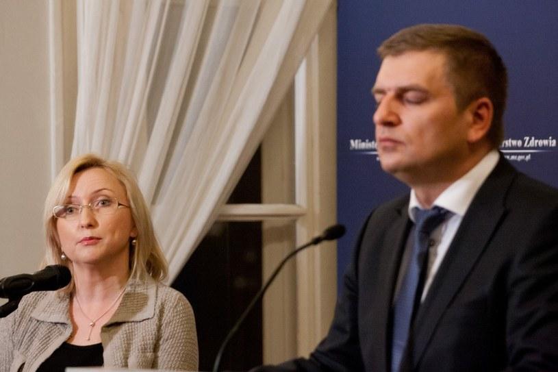 Bartosz Arlukowicz i Agnieszka Pachciarz /Krystian Maj /Reporter