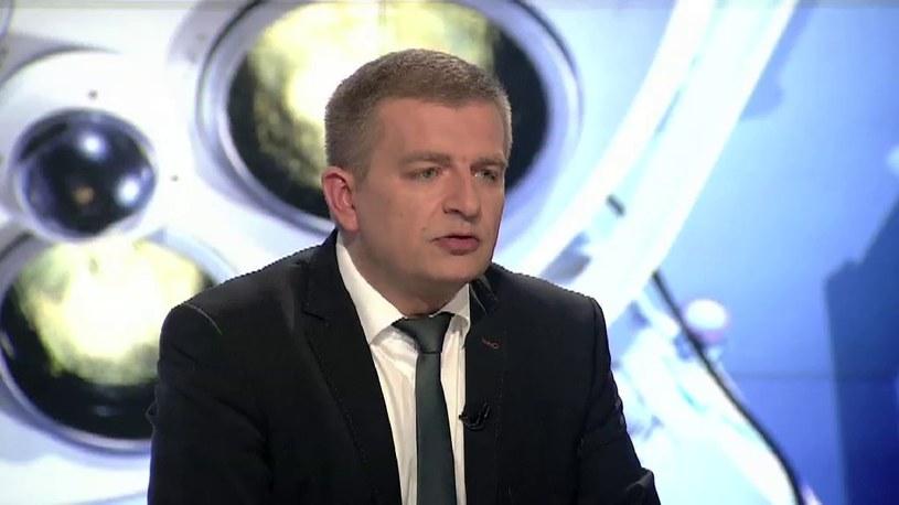 Bartosz Arłukowicz jest zdania, że dyrektor nie może narzucać swojego sumienia szpitalowi /TVN24/x-news