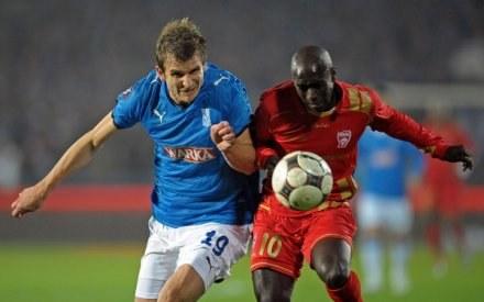 Bartosz Bosacki może opuścić latem drużynę Lecha Poznań /AFP