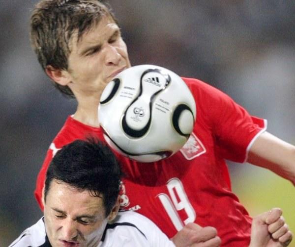 Bartosz Bosacki rozegrał w Dortmundzie dobre spotkanie /AFP