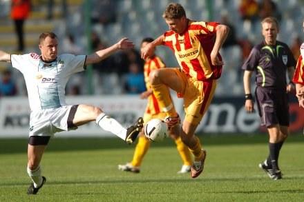 Bartosz Hinc (z lewej)/Fot: Mateusz Jagielski /Agencja Przegląd Sportowy