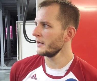 Bartosz Kurek po meczu Polska - Francja (2:3)