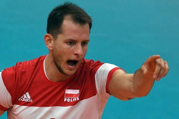 Bartosz Kurek w barwach reprezentacji Polski /AFP