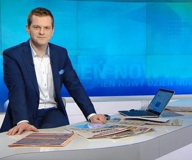Bartosz Kurek został odsunięty od prowadzenia programów w Polsat News