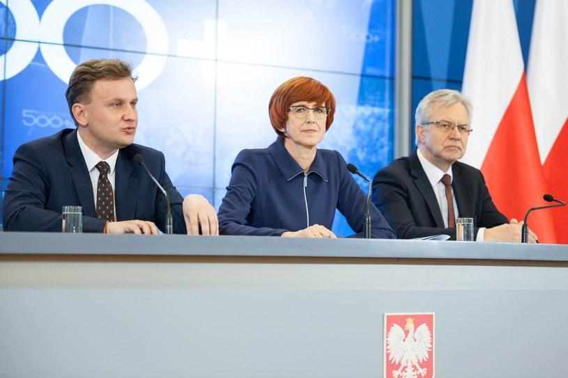 Bartosz Marczuk (L), wiceminister rodzinny, pracy i polityki społecznej, Fot. Aleksandra Szmigiel /Reporter