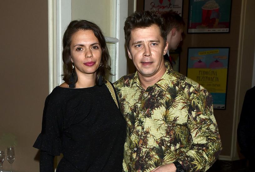 Bartosz Obuchowicz z żoną /VIPHOTO /East News