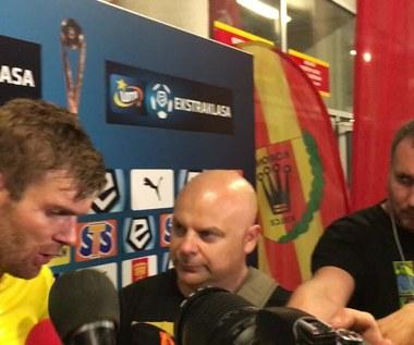 Bartosz Rymaniak o zmarnowanym karnym Nabila Aankoura (wideo)
