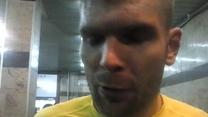 Bartosz Rymaniak, piłkarz Korony Kielce. Wideo
