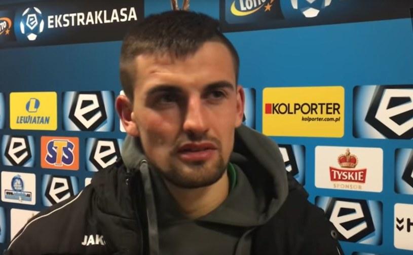 Bartosz Śpiączka skompletował dublet w starciu z byłym klubem /