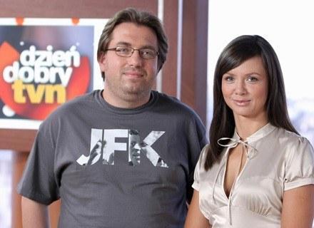 Bartosz Węglarczyk i Kinga Rusin, fot. B.Krupa/Eastnews /TVN /