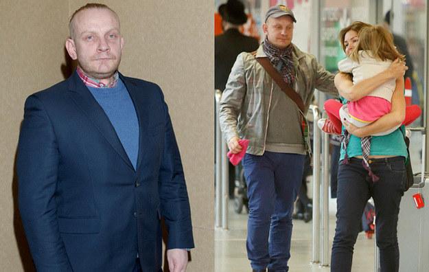 Bartosz Żukowski z żoną Ewą i córką /AKPA