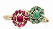 Barwne kamienie w pierścionkach zaręczynowych