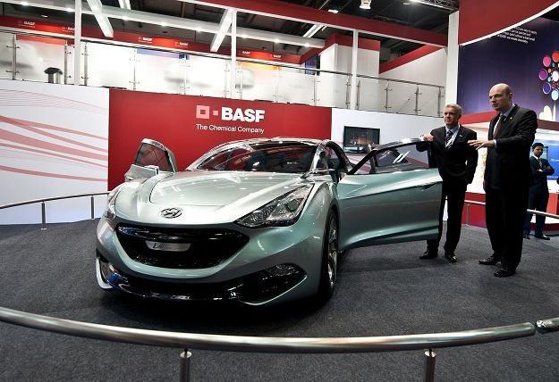 BASF ma duże doświadczenie w motoryzacji. Był m.in. współkonstruktorem Hyundaia i-Flow /AFP