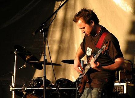 Basista grupy Papilla, Paweł Grabowski /Oficjalna strona zespołu