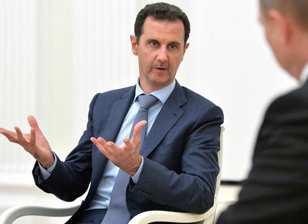 Baszar al-Assad /RIA NOVOSTI ALEXEY DRUZHININ /AFP