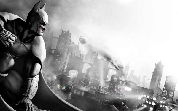 Batman: Arkham City - motyw graficzny /Informacja prasowa
