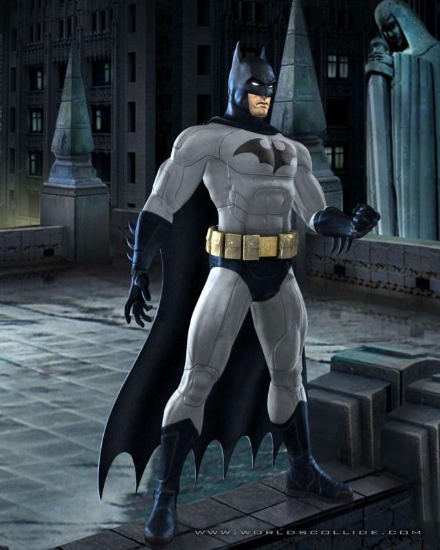 Batman, tylko czeka na znak do walki /gram.pl