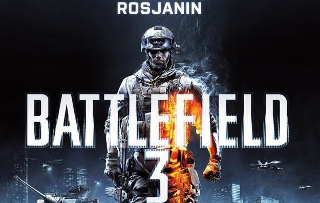 Battlefield 3: Rosjanin - fragment okładki książki /Informacja prasowa