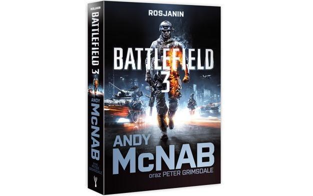 Battlefield 3: Rosjanin - okładka ksiązki /Informacja prasowa