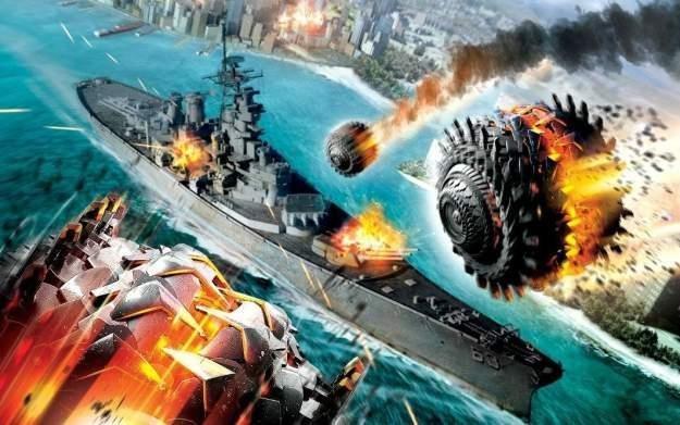 Battleship: The Videogame - motyw graficzny /Informacja prasowa