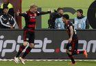 """Bayer Leverkusen - Hertha Berlin 2-1. """"Aptekarze"""" pewni gry w Lidze Mistrzów"""