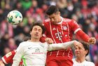 Bayern Monachium - Werder Brema 4-2. Robert Lewandowski strzelił dwa gole