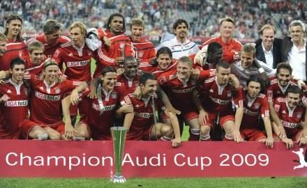 Bayern Monachium wygrał Audi Cup /AFP
