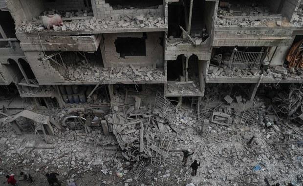 BBC: Domniemany atak z użyciem chloru na syryjską Wschodnią Gutę