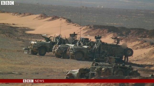 BBC opublikowała zdjęcia brytyjskich sił specjalnych w Syrii, fot. BBC /