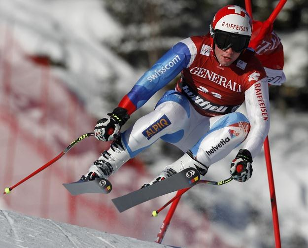 Beat Feuz /AFP