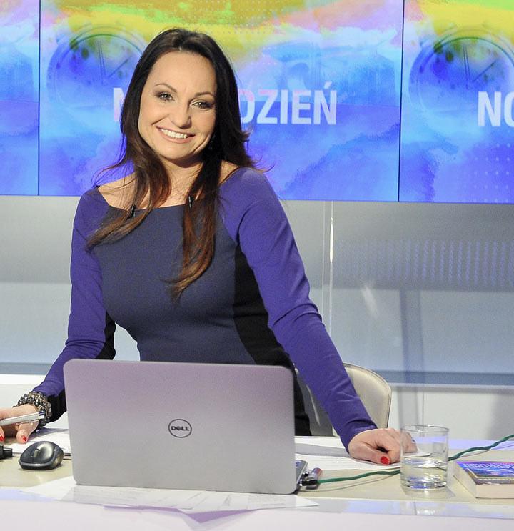 Beata Cholewińska: Uśmiech o poranku /AKPA