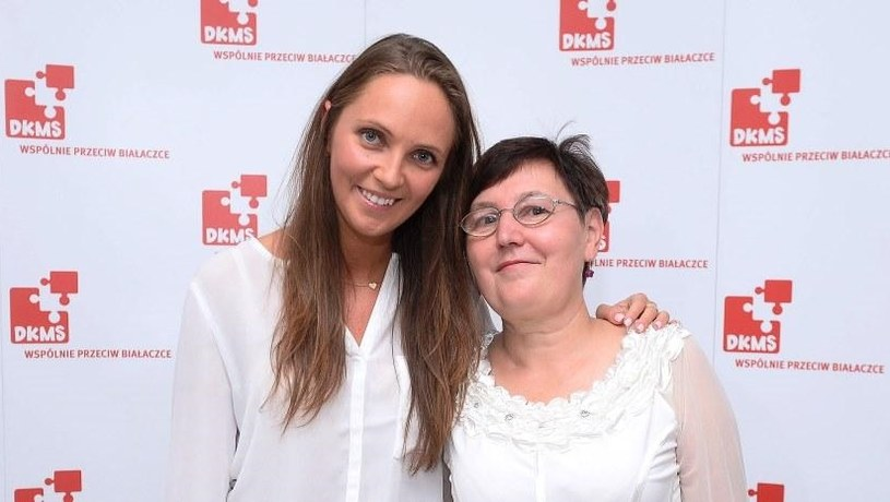 Beata i pani Bogusia poznały się w październiku ubiegłego roku. Fot: www.dkms.pl /