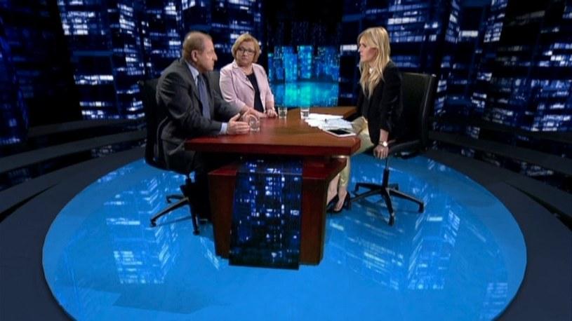 Beata Kempa była gościem Moniki Olejnik /TVN24/x-news