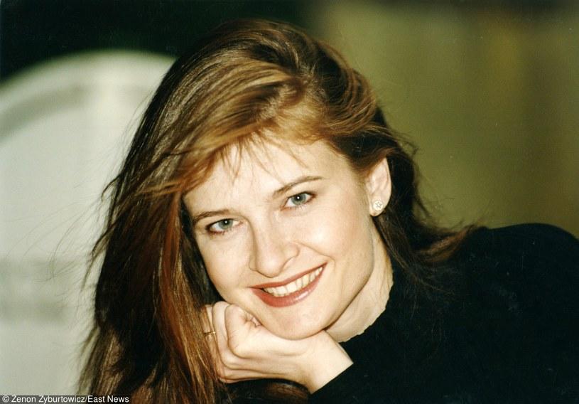 Beata Poźniak w latach 90. /Zenon Zyburtowicz /East News