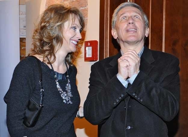 Beata Ścibakówna i Jan Englert / fot. Andreas Szilagyi /MWMedia