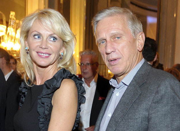 Beata Ścibakówna i Jan Englert /Kurnikowski /AKPA