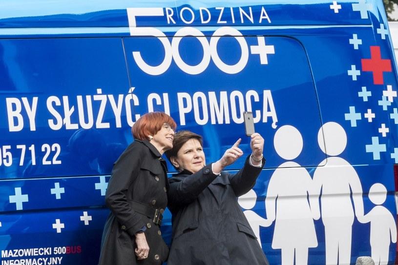 Beata Szydło i Elżbieta Rafalska /Jacek Dominski/REPORTER /East News
