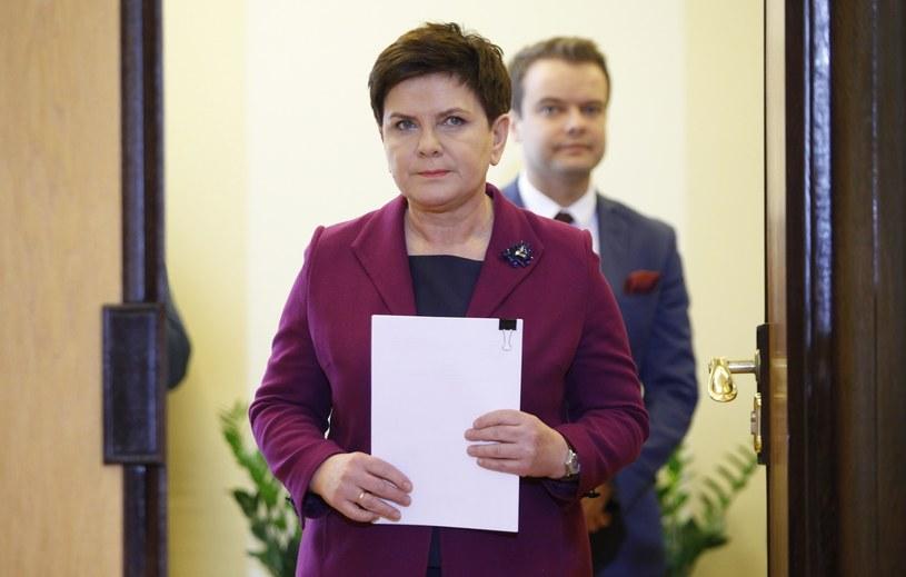 Beata Szydło i Rafał Bochenek /East News