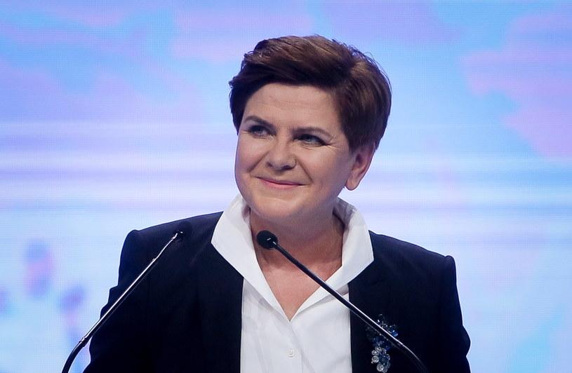 Beata Szydło na konwencji PiS /Paweł Supernak /PAP