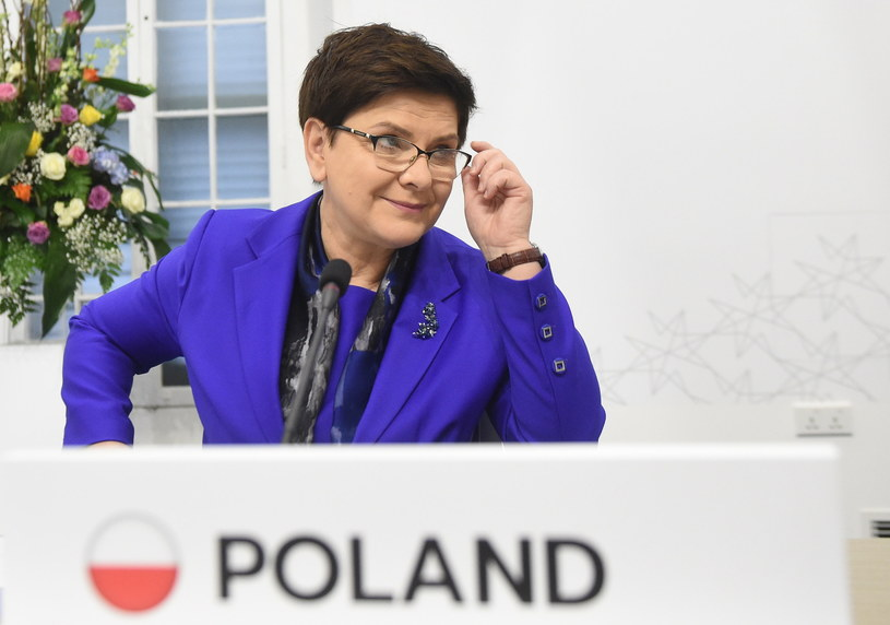 Beata Szydło na Malcie /Radek Pietruszka /PAP