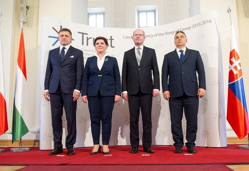 Beata Szydło na szczycie Grupy Wyszechradzkiej /Bartosz Krupa /East News