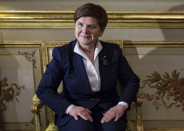 """Beata Szydło: """"Nasz rząd jest bardzo krytyczny wobec wielu decyzji podejmowanych w UE"""" /AFP"""