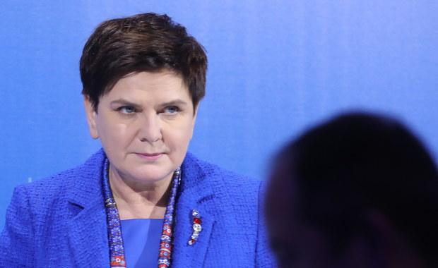 Beata Szydło: Nie zgodzimy się na szkalowanie polskich obywateli