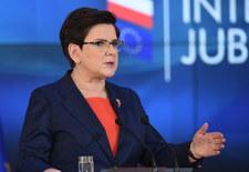 Beata Szydło: Polski rząd będzie głośno upominał się o zasady w UE