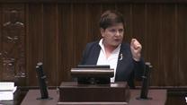 Beata Szydło: Premie należały się ministrom